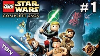 Lego Star Wars La Saga Completa - La Amenaza Fantasma - Capitulo 1 - HD 720p