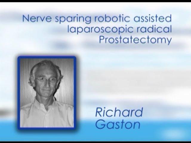 CILR 2012 - Richard Gaston - Nerve-sparing robotic-assisted laparoscopic radical prostatectomy