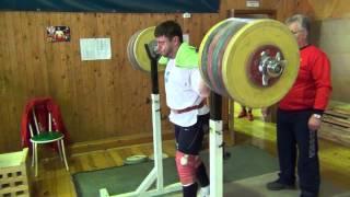 Lukanin Vlad - SQUAT 280 kg