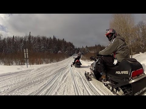 TUG HILL Snowmobile Rippin' 2014