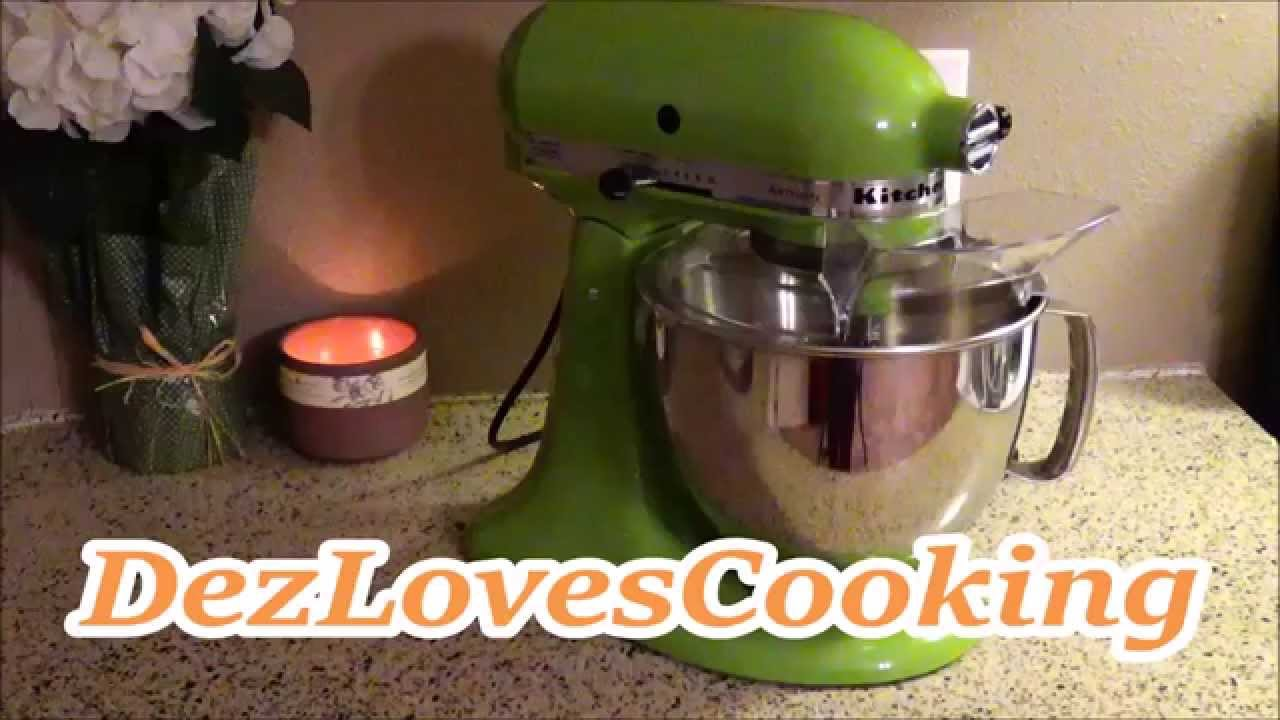 kitchenaid artisan mixer youtube