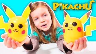 Пикачу своими руками из Киндер Капсул DIY Easy Pikachu from Kinder
