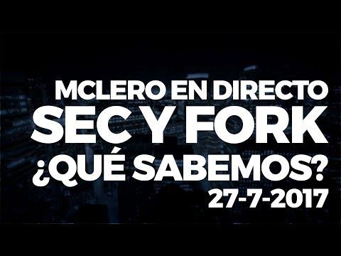 MCLEROTV Directo (Grabación) - SEC, ICOs, Fork Bitcoin, Malta...