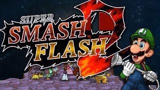 EL MEJOR SMASH BROS DE TODOS Y ES #GRATIS!! | Super Smash Flash 2 | Ep 1 con -- ALEX --