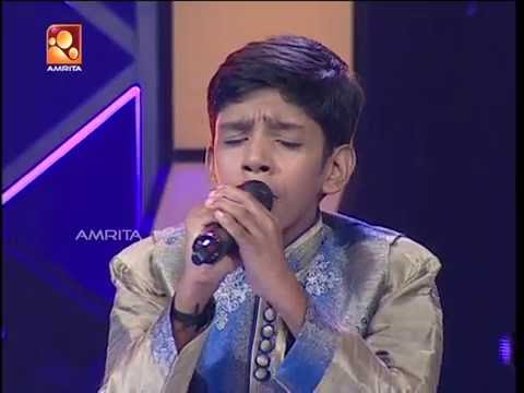 Super Star Junior 5 | Amal Roy Singing 'Mazha Kondu Mathram…' (Spirit Movie)