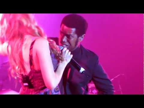 'Knock on Wood' Joss Stone & Ty Taylor(Vintage Trouble) Best Buy Theater New York, 16th October 2012