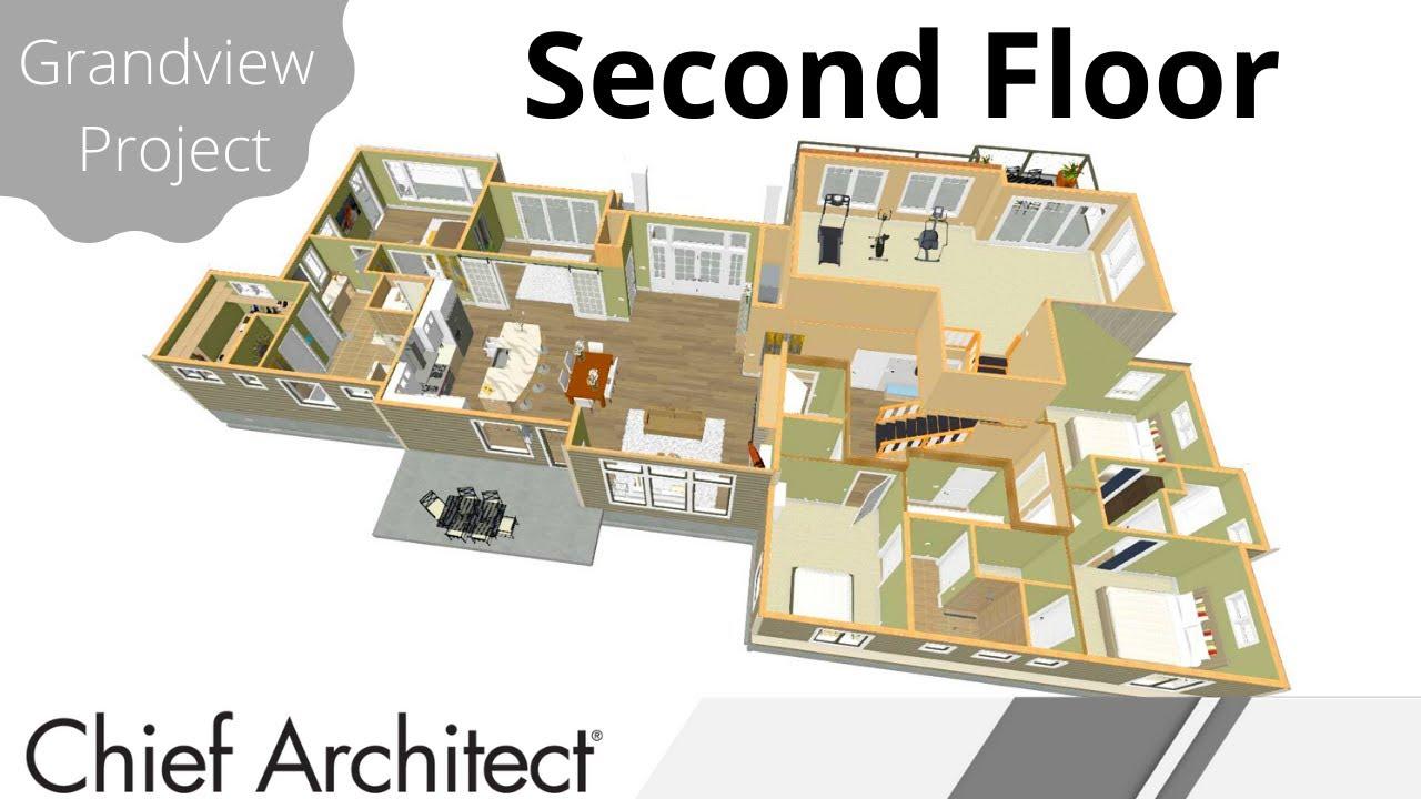floorplan 2nd floor stairs balcony grandview build project - Build A Floorplan