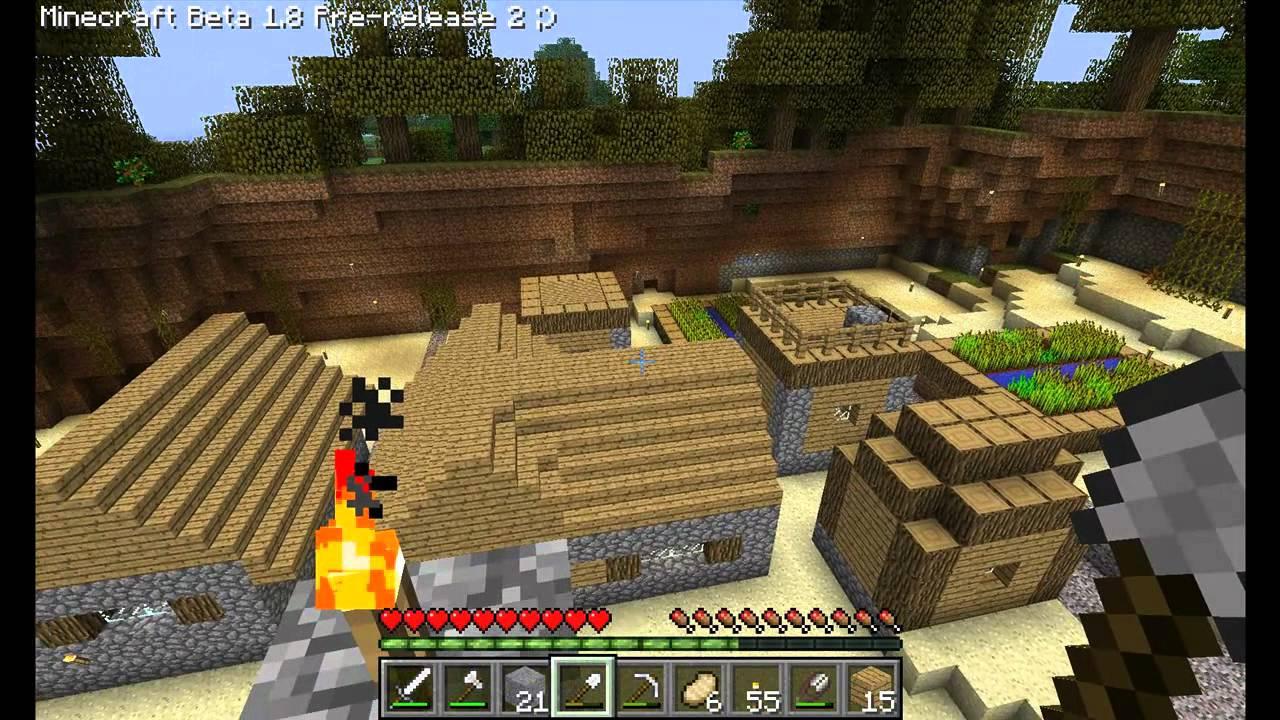 Minecraft NpcDorf Ausgebaut YouTube - Minecraft dorfbewohner bauen hauser mod