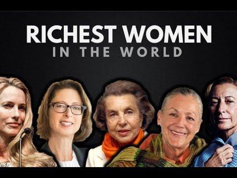 The Richest Women in the World-Top 5 World's Richest Women 2017