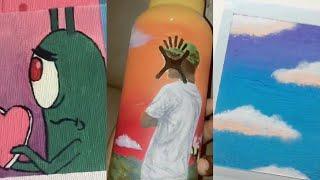 Tik Tok Painting Compilation 1 Youtube