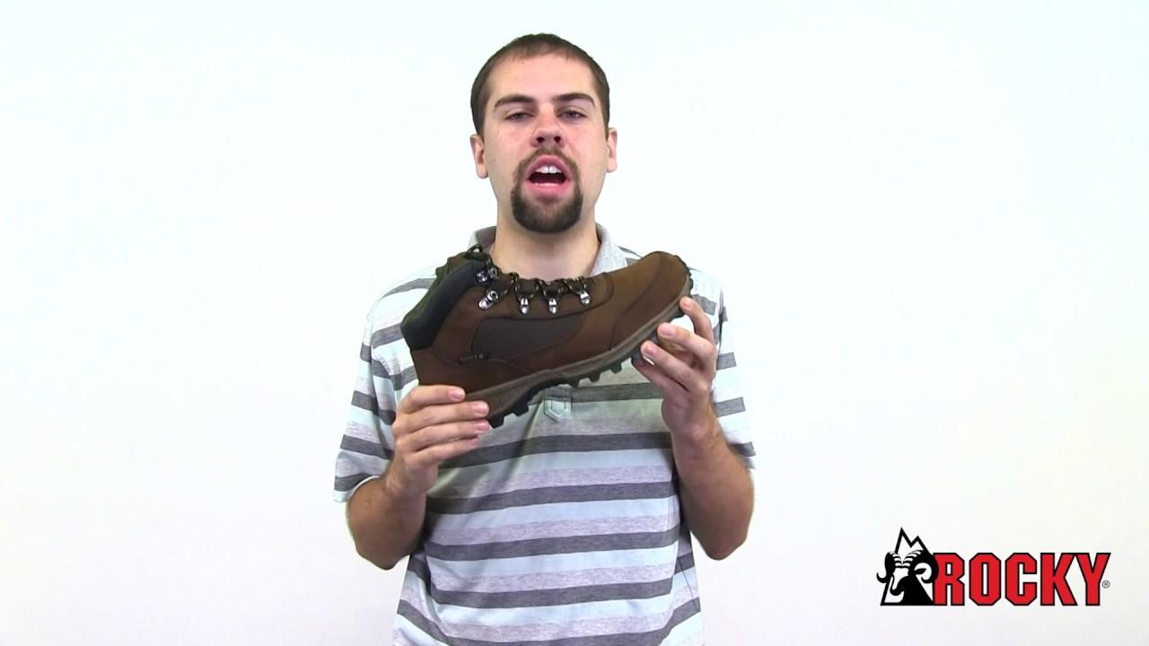 Rocky Stratum Waterproof Outdoor Boot Aggressive EVA//rubber outsole Full-grain