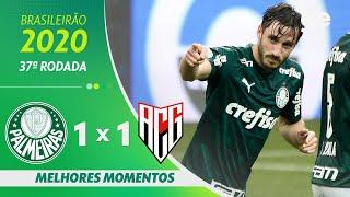 PALMEIRAS 1 X 1 ATLÉTICO-GO | MELHORES MOMENTOS | 37ªRODADA BRASILEIRÃO 2020 |ge.globo