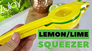 Heavy duty metal lemon/lime squeezer press by Zulay review