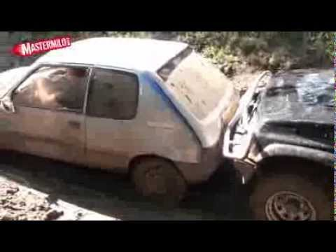 Peugeot 205 offroad ability test