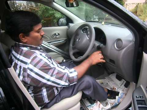 Hand Controls For Cars >> paraplegic driving with hand controls car - YouTube