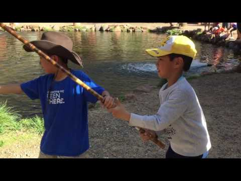 Sedona Rainbow Trout Farm (bonus Footage)