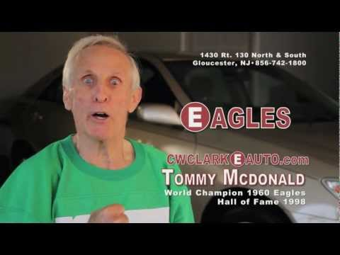 TV AD: CW CLARKE featuring Philadephia Eagles HOF Player Tommy McDonald