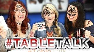 Lady Tattoos and Nerdy Weddings on #TableTalk!