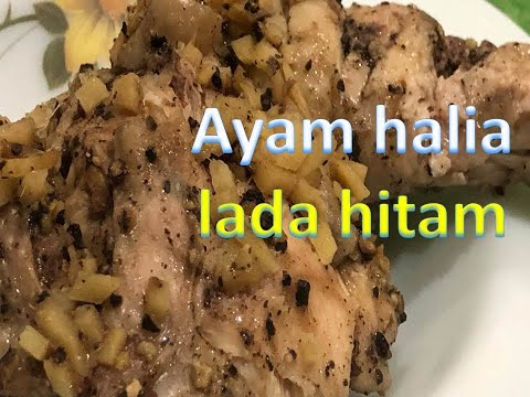 resepi-ayam-lada-hitam-|-black-pepper-chicken