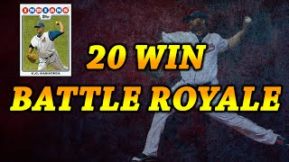 MLB The Show 16 Diamond Dynasty | 20 WINS IN BATTLE ROYALE