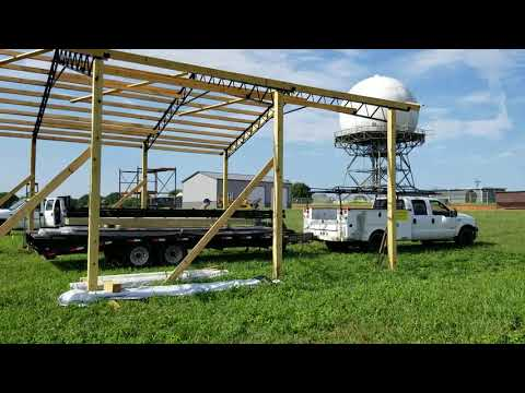 STEEL TRUSSES Airplane Hangers UFOs and Pole Barn Kits