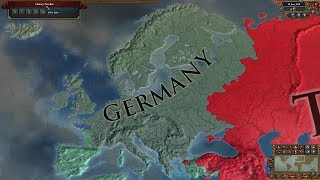 Europa Universalis 4 AI Timelapse - No Lucky Nations Superextended Timeline 1444-3500
