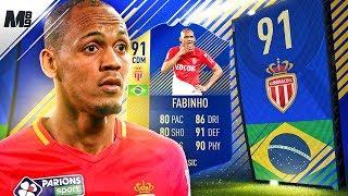 FIFA 18 TOTS FABINHO REVIEW | 91 TOTS FABINHO PLAYER REVIEW | FIFA 18 ULTIMATE TEAM