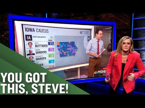 Someone Needs To Check on Steve Kornacki   Full Frontal on TBS