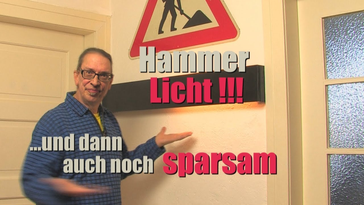 Led Lampe Ganz Einfach Selbst Gebaut Anleitung Diy Youtube