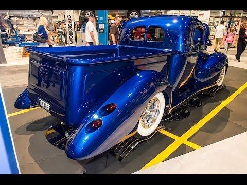 SEMA 2013 Chaotic Customs 1940 Ford Truck Napa Bankrupt Blues - TCI Engineering chassis