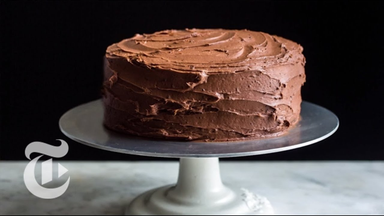 Devils food cake melissa clark recipes the new york times youtube forumfinder Image collections