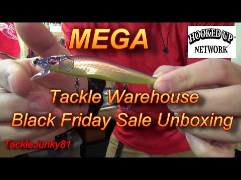 Tackle Warehouse 2014 Black Friday Sale Unboxing (TackleJunky81)