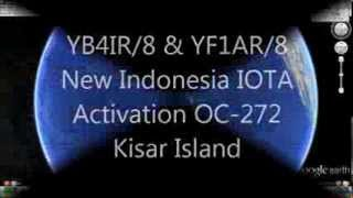 YB4IR/8 & YF1AR/8 Indonesia New IOTA Activation OC-272 Kisar Island