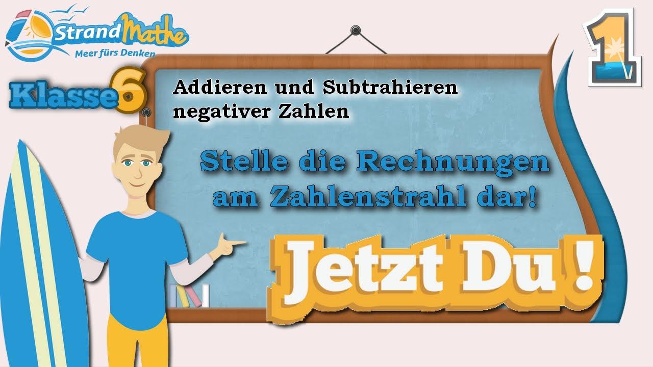 Niedlich Subtraktion Positive Und Negative Zahlen Arbeitsblatt ...