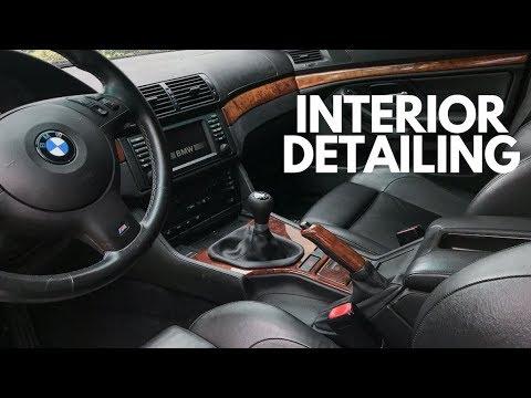 Interior Maintenance Detail: E39 M5