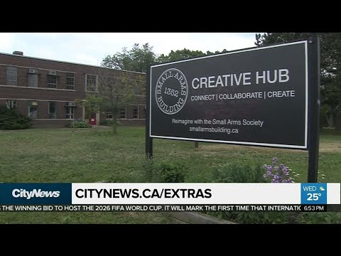 Former munitions factory to become creative arts space