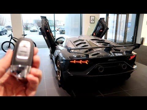 Je Configure Une Lamborghini Aventador Svj Youtube
