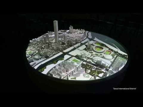 Seoul International District Projection Mapping