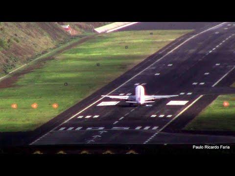 NEAR TAIL-STRIKE on Landing