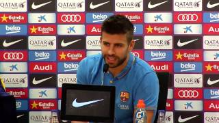 Pique speaks his mind about national team boos and Real Madrid