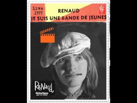 renaud je suis une bande de jeune live 1977 belgique version live in dite youtube. Black Bedroom Furniture Sets. Home Design Ideas