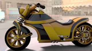 Blender Video (Motorcycle) / Видео в Блендер (Мотоцикл)