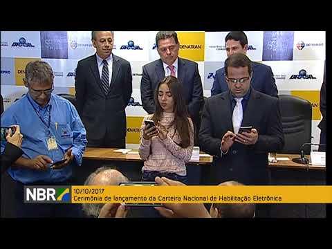 Governo lança Carteira Nacional de Habilitação Eletrônica