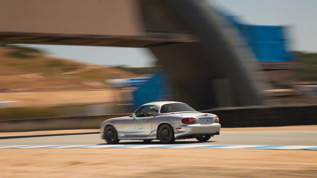 Car Com Miatas Mazda Raceway Laguna Seca