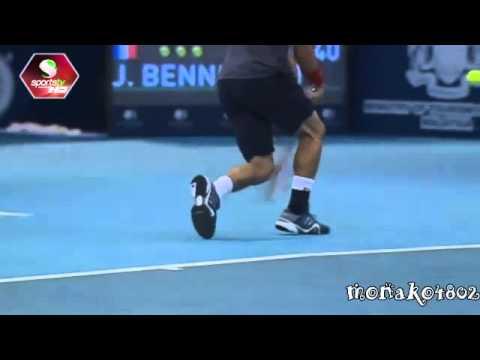 Kei Nishikori vs Julian Benneteau Kuala Lumpur 2014 FINAL