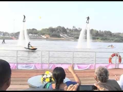 Aquatic Adventure event held at Bharuch in Gujarat