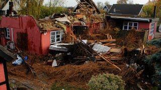 Media Næstved 261013 Stråtækt hus brændt ned