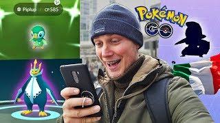 WPISY W POKEDEXIE I NOWE SHINY! PRZYGODA W MEDIOLANIE ! (Pokemon GO)