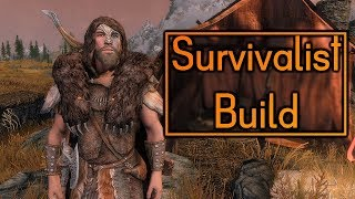 Survivalist Build - Skyrim Build - Survival Mode