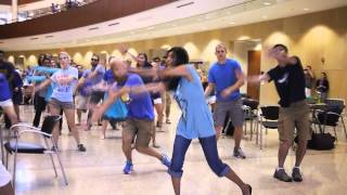 dance with me tonight flash mob by uw medical students